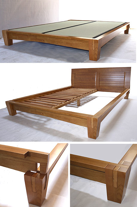 Platform Beds Low Beds Japanese Solid Wood Bed