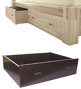 TALL Platform Storage Drawers, Set of Two