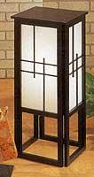 30inch Shoji Pedestal Floor Lamp
