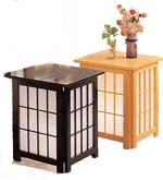 Shoji End Table