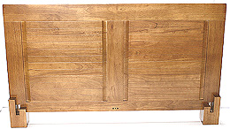 Mado Classic Platform Headboard - Honey Oak