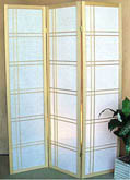 71inch Off-Set Pattern 3 Panel Shoji Screen