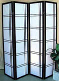 71inch Off-Set Pattern 4 Panel Shoji Screen