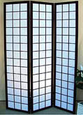 71inch Checker-board Pattern 3 Panel Shoji Screen