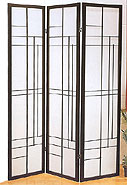 71inch Contemporary Design 3 Panel Shoji Screen