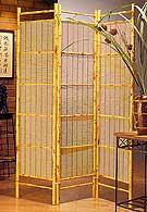 71inch 3 Panel Higo Bamboo Divider