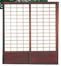 ... Shoji Sliding Door in Dark Walnut  sc 1 st  TatamiRoom.com & SD1103.jpg