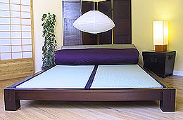 Platform Beds - Japanese Style Low Beds :  interior design interiors interior beds